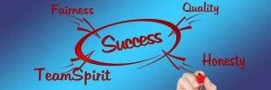 Logo for success