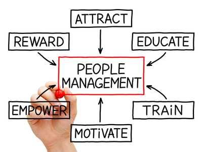 Icons regarding people management