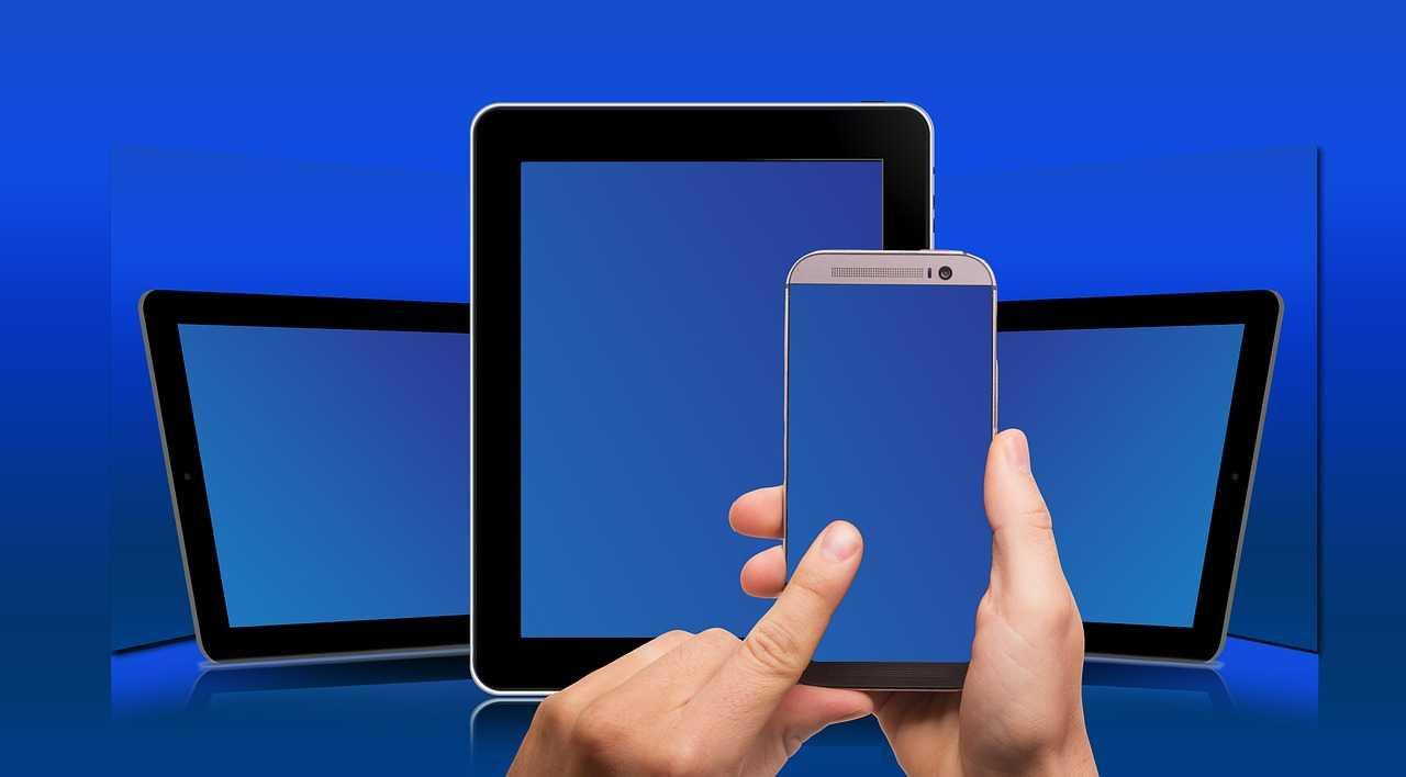Three devices