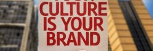 Image saying Your culture is your brand