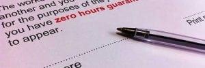 Zero hour contract sign here