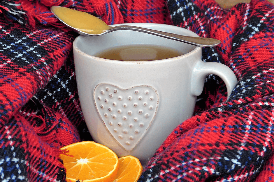 Hot drink to prevent flu