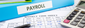 Paper-based payroll and timesheets