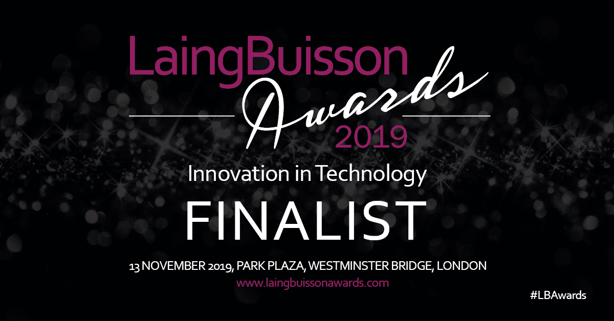 Unique IQ is an Innovation in Technology finalist in the Laing Buisson Awards 2019