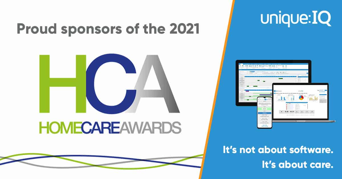 Unique IQ to sponsor the Home Care Awards 2021
