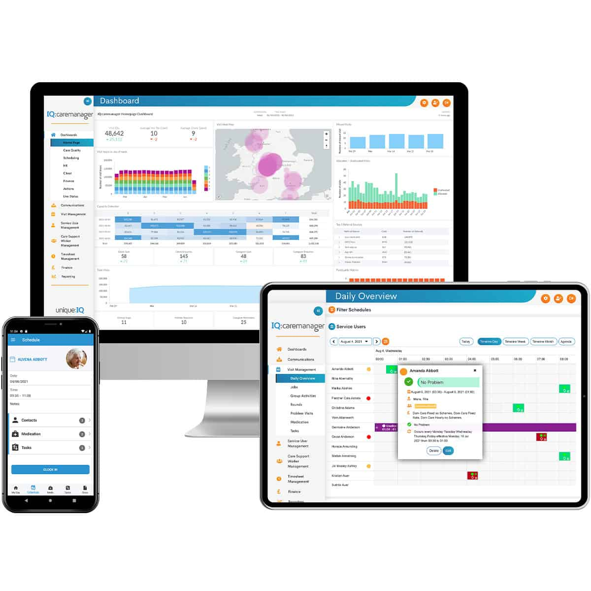 IQ:caremanager - new care management software from Unique IQ